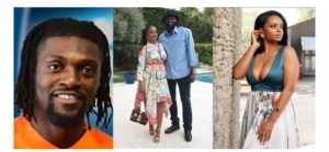 Emmanuel Adebayor & Girlfriend, Dillish Mathews Split, Unfollow Each Other On IG